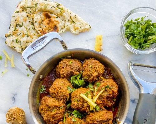 Kofta curry (meatball curry)