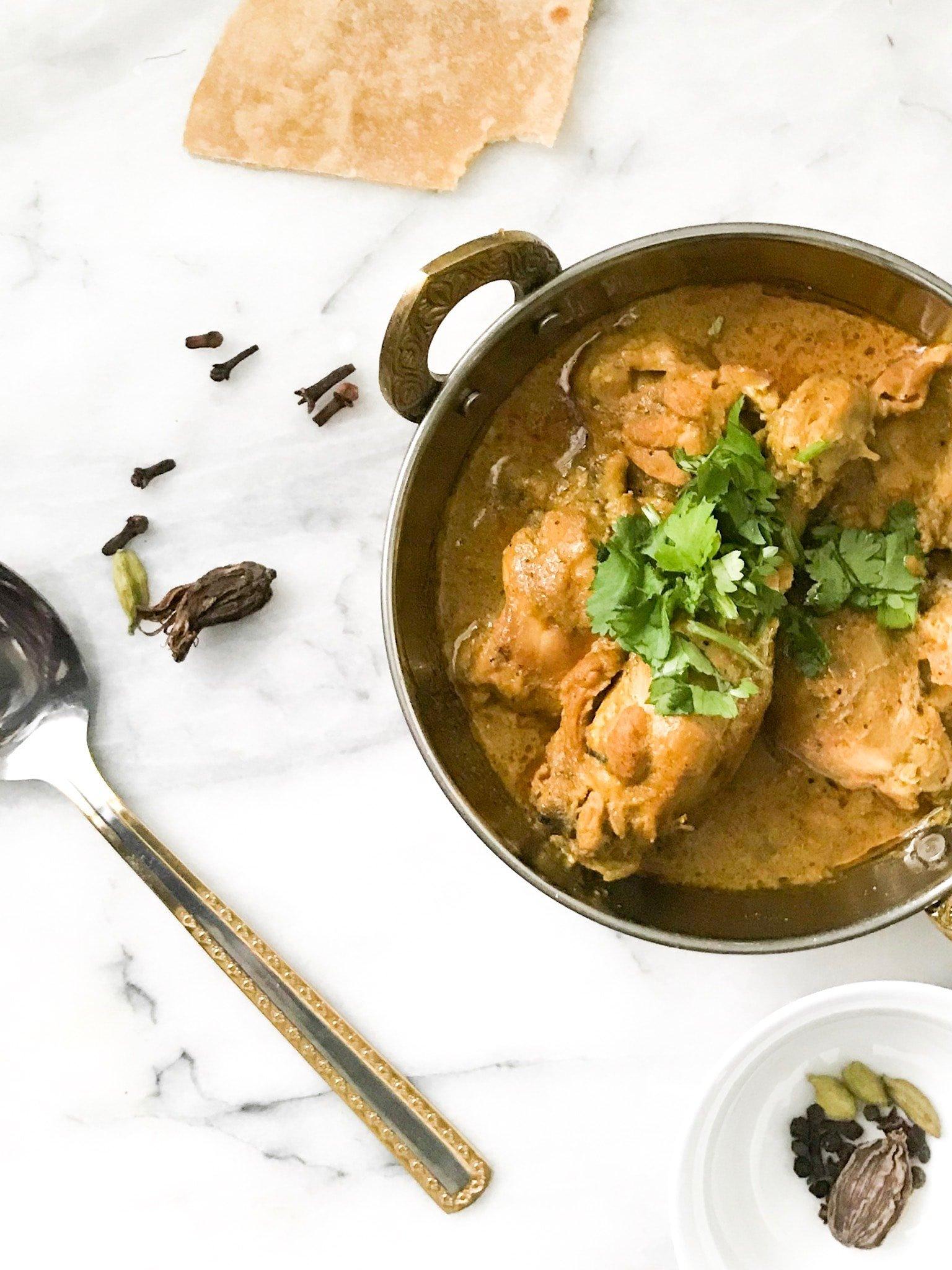 One Pot Yogurt Chicken Curry