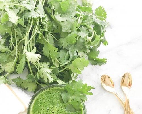 Vaquas's Famous Green Chutney