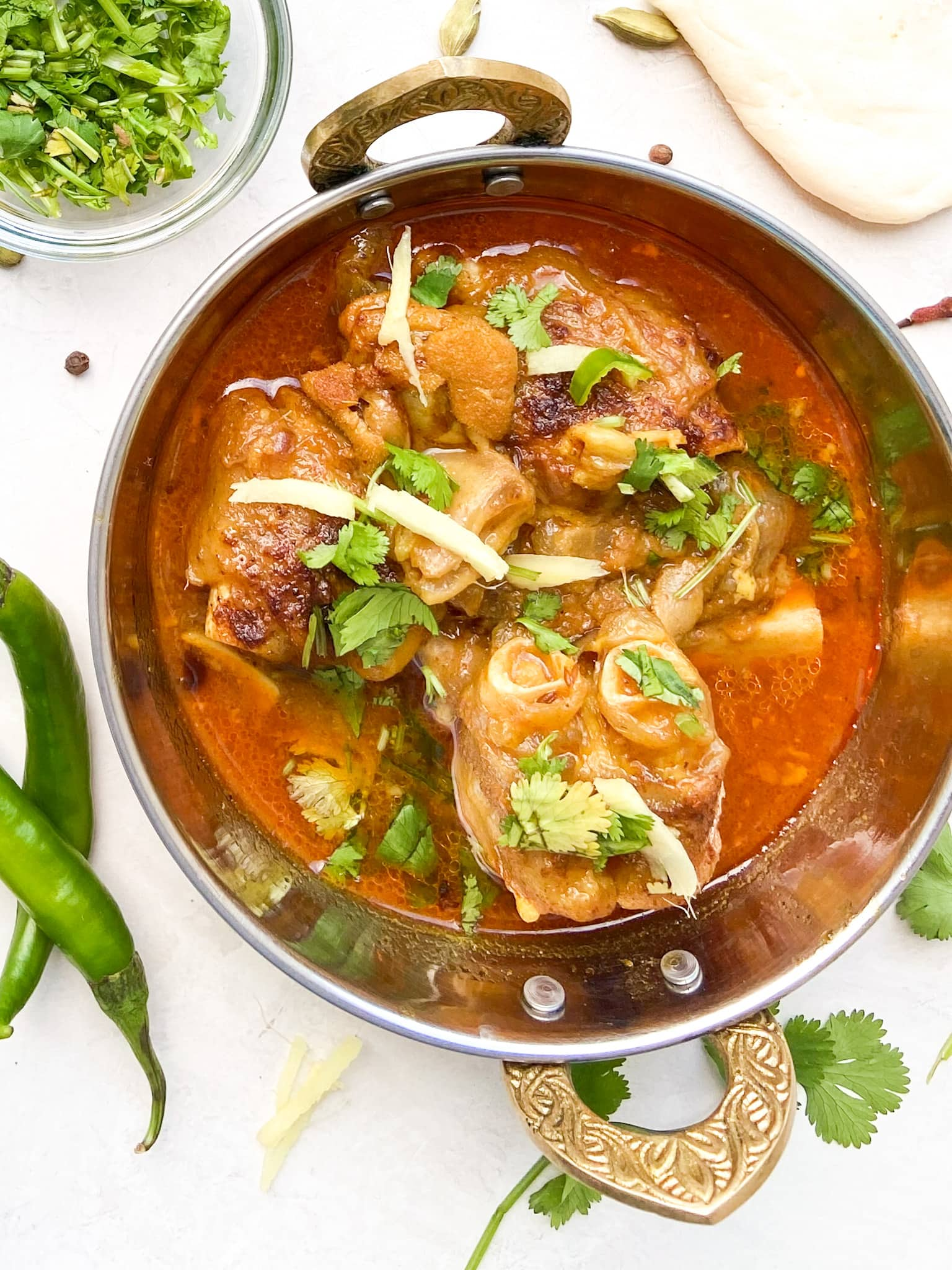 Paya Curry (Mutton Trotters)