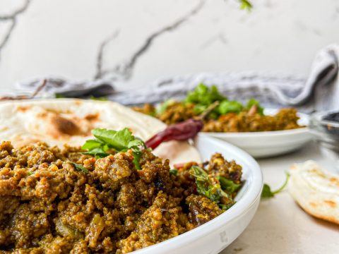 Authentic Dum Ka Keema (Smoked Ground Beef)