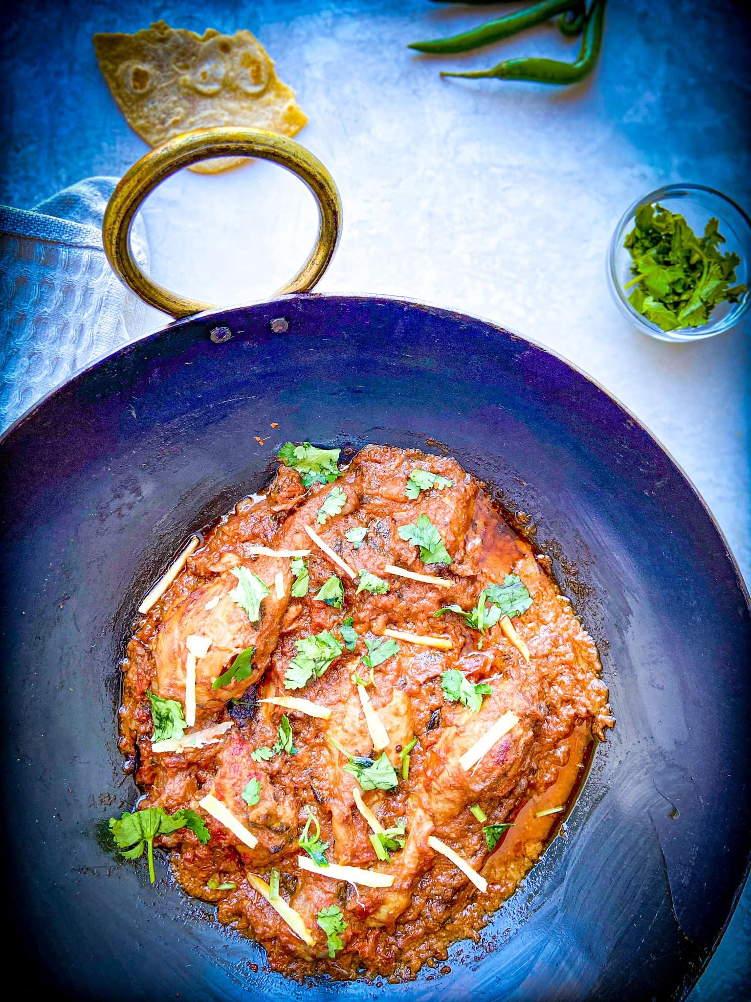 Authentic Chicken Karahi