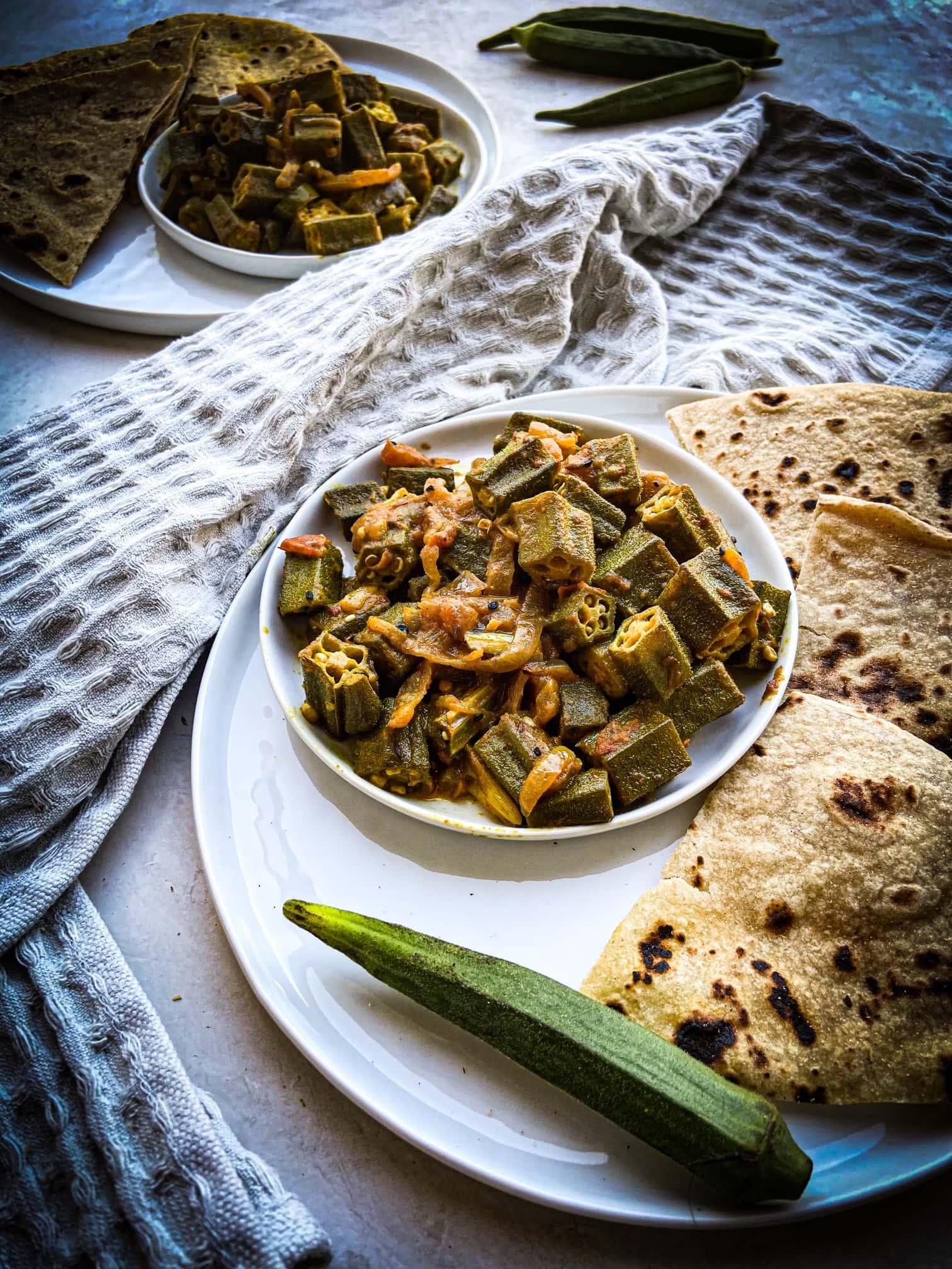 Achari bhindi
