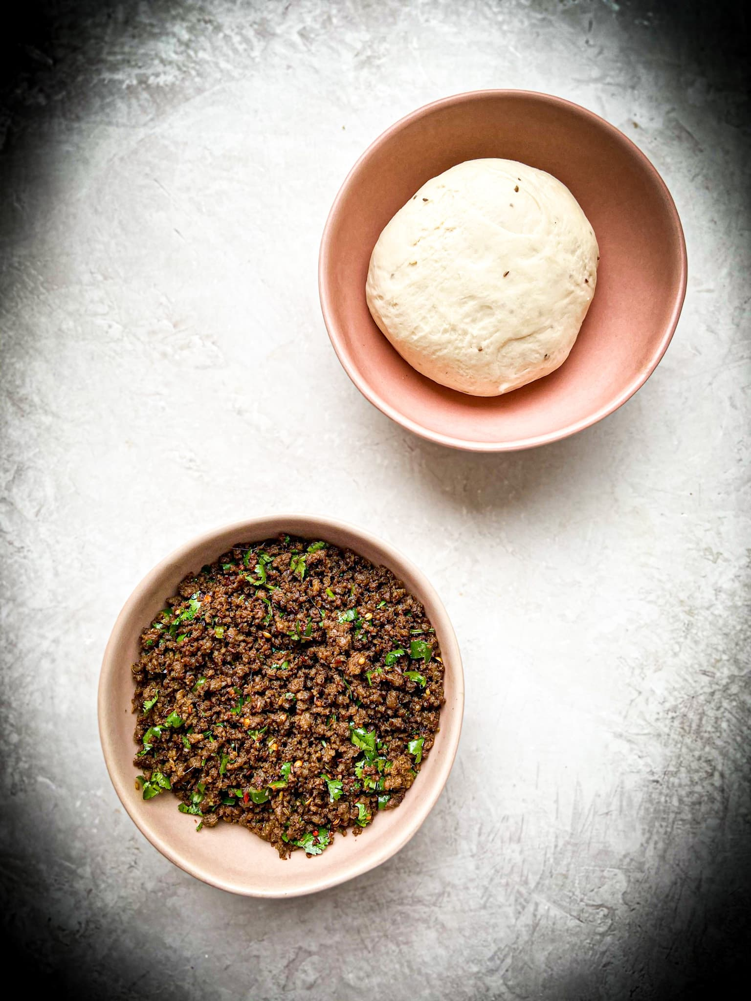 dough and keema
