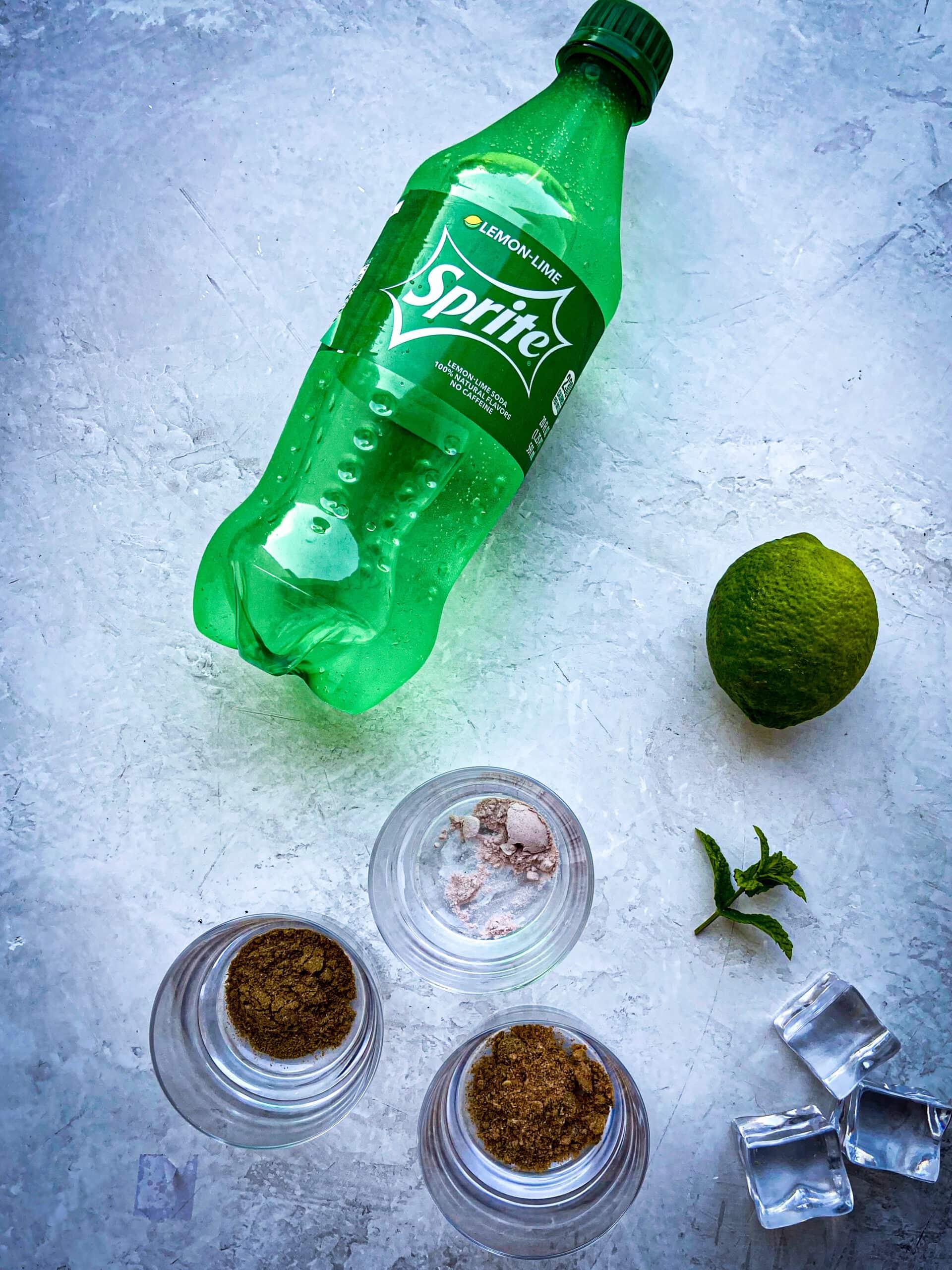 limca ingredient shot